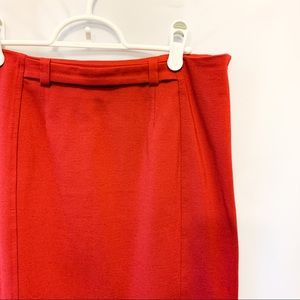 🌼2/$22🌼 Cute Red Pencil Skirt by Ricki's
